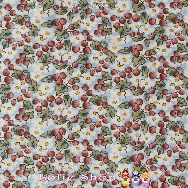 Coton Imprimé mini Floral