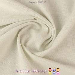 Toile épaisse Coton Bleu Écru, fils de chaîne blanc et Lurex