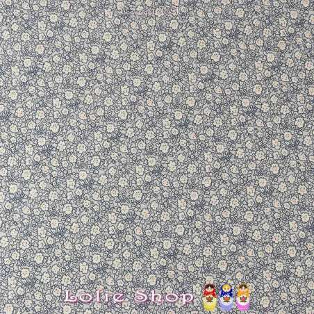 Coupon de 3 mètres Microfibre Élasthanne Imprimé motif Fleuri