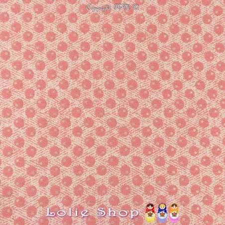 Maille Jacquard Tramé motif à Poids Ton Fuchsia et Lurex Argent