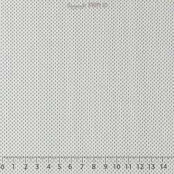 Popeline Coton Imprimé - 100% Coton  Motif: Petits Traits Graphique Ton Bleu Marine et Ciel