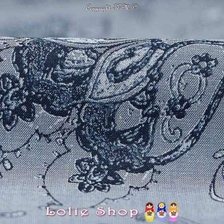 Coupon de 3mètres à 10€ en Tissus Popeline de coton imprimé