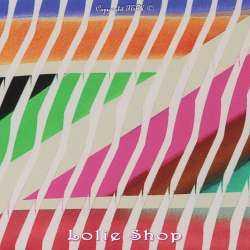 Microfibre Élasthanne Imprimé Géométriques & Rayures Multicolores