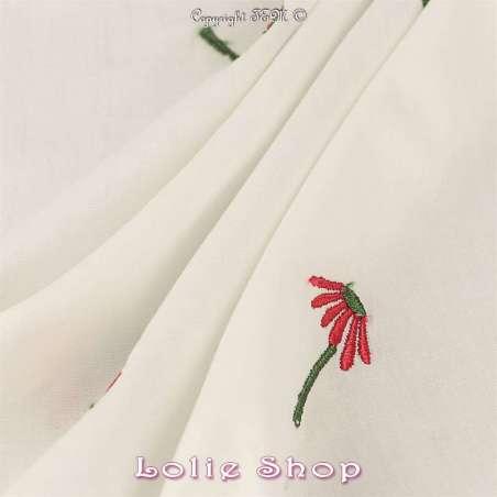 Tissu Popeline de Coton 100%
