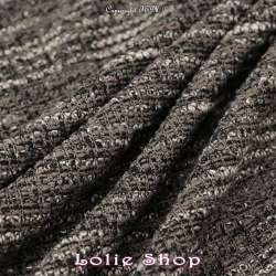 Tissu Maille Gamme OLIVIA Couleur Gris