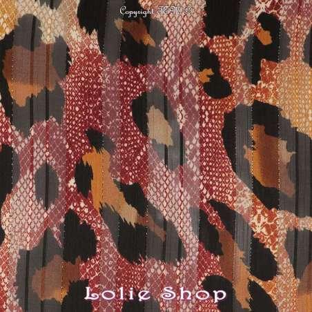 Crépon Polyester tissu
