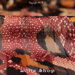 tissus Crépon Polyester Lurex